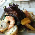 Short Ribs and Prawns