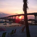 Sunset over the Intracoastel