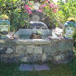 la fontana del giardino