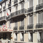 Busby hotel in Nice. The facede