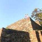Yonago castle ruins at sunrise!