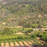 The nearby Sirince Village
