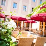 Frühstücksterrasse / Breakfast terrace