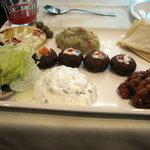 Lebanese starter plate