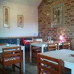 cafe area inside