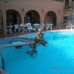 Swimming pool Andromaco Hotel_Taormina