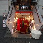 negozio interrato nel centro storico