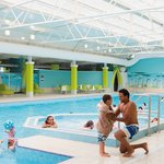 Heated indoor pool at Caister Holiday Park