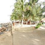 jonction hotel/plage