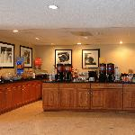 Morrow GA Hotel Breakfast Area