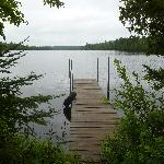 Beautiful view from Cabin 10's dock