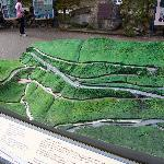 A model of the spiral tunnels