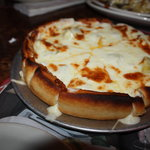 My deepdish Artichoke and shrimp and cream & cheese
