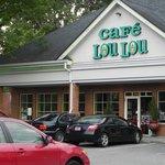 Exterior view of Cafe Lou Lou's