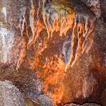 Flowstone in the Cave