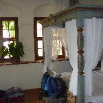 das Eckzimmer im ersten Stock