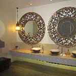 the ladies toilets