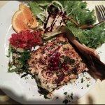 Lasagne saumon st jacques épinard & son accompagnement