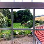 The view from the south window in The Waterside