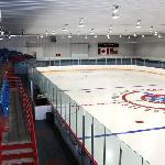 Onsite arena featuring 2 NHL size surfaces