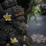 Ganesha at entrance