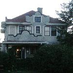 The front of the house