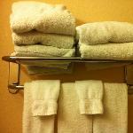 grey bath towels!