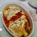 Soft, creamy and flavorful lasagna.