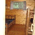 inside a basic kabin