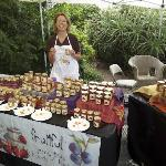 Fruitful Preserves made in small batches from Andy's Orchard are a favorite