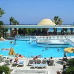 piscine et pool bar