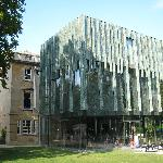 The Holburne in its garden setting
