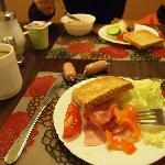 Nice breakfast-1 I love the hot coffee in  Gasteiner Hof