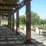 patio near the terrace restaurant