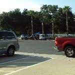 Car park area