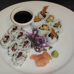 Sushi rolls served every Saturday.
