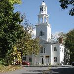 Die Kirche liegt an der Monument Avenue