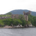 Urquhart Castle from the boat