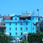 View of Hotel Rumi fromj Mevlana Museum: note the lovely terrace