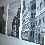 Wall art work- Liver building