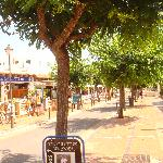 Cala dor - lovely and clean streets with lovely shopping area