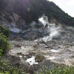 Incroyable le volcan encore en activité....