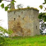 Nearby castle ruin