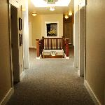 Light and bright hallway