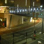 sky bridge that goes over to cabot circus!