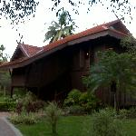 The Chalets at the resort, which comprise 8 rooms.