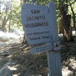 Entrance to the Devils Slide Trail