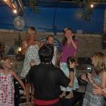 Traditional Greek Dancing at the Hellas Taverna