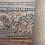 fresco on stairway