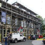 front scaffolding